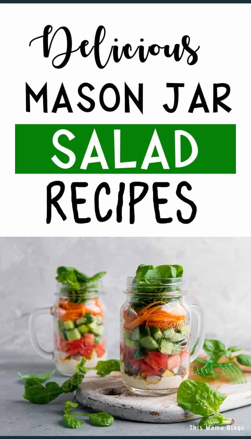 Never miss eating healthy everyday with these tasty, gorgeous mason jar salads recipes! #healthyfood #saladrecipes #masonjarmeals
