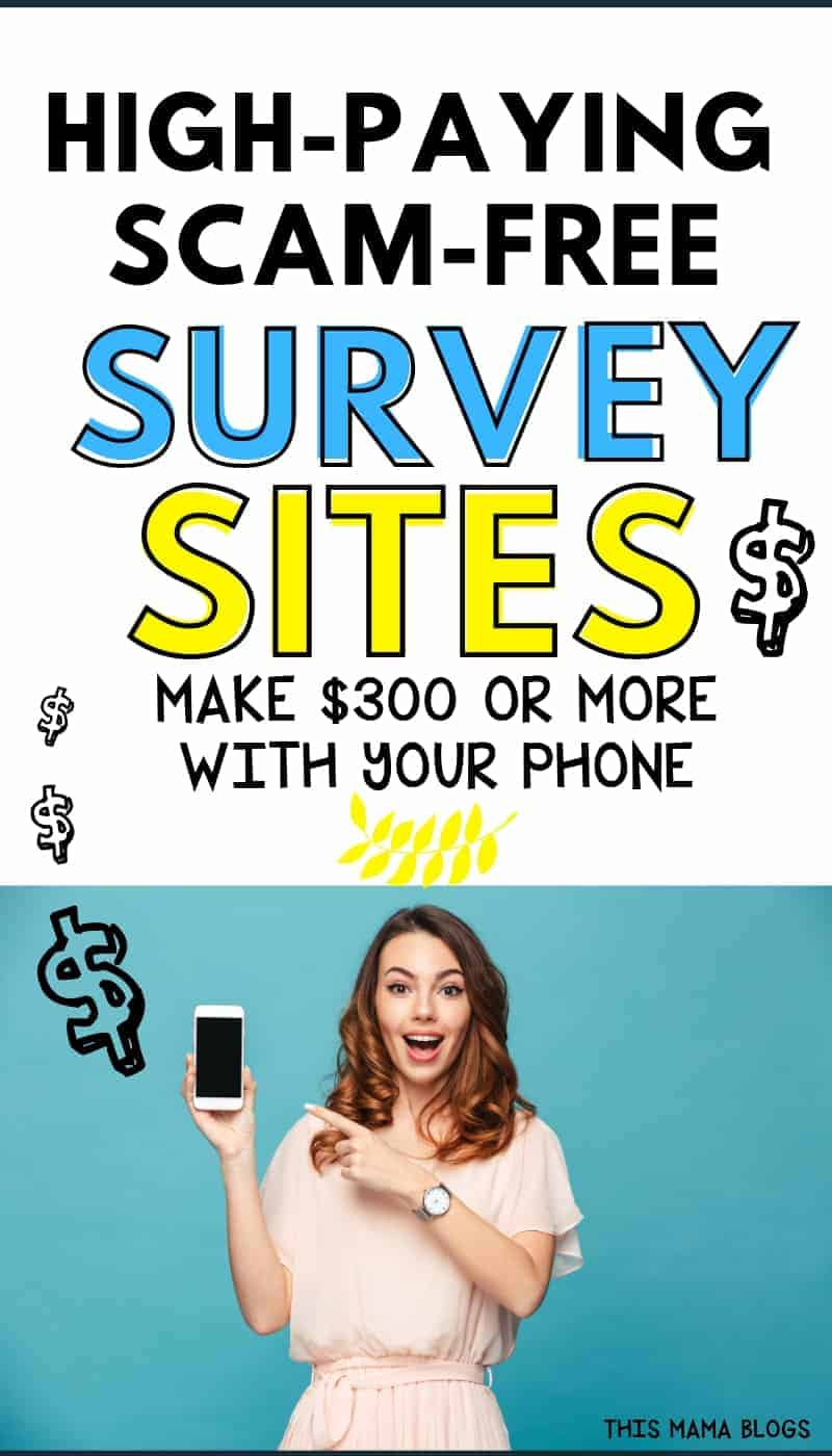 Are you looking for quick ways to earn extra money without getting a real job or make money anywhere using your phone? Completing surveys is one of the easiest side hustles you can make money from. Here are the best legitimate paid online surveys companies that pay cash! #onlinesurveys #extraincome  #surveysformoney #surveysthatpaycash