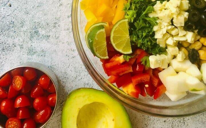 budget chickpea salad