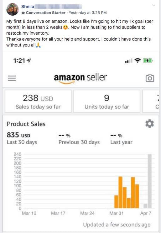 AMazon FBA- business ideas for moms