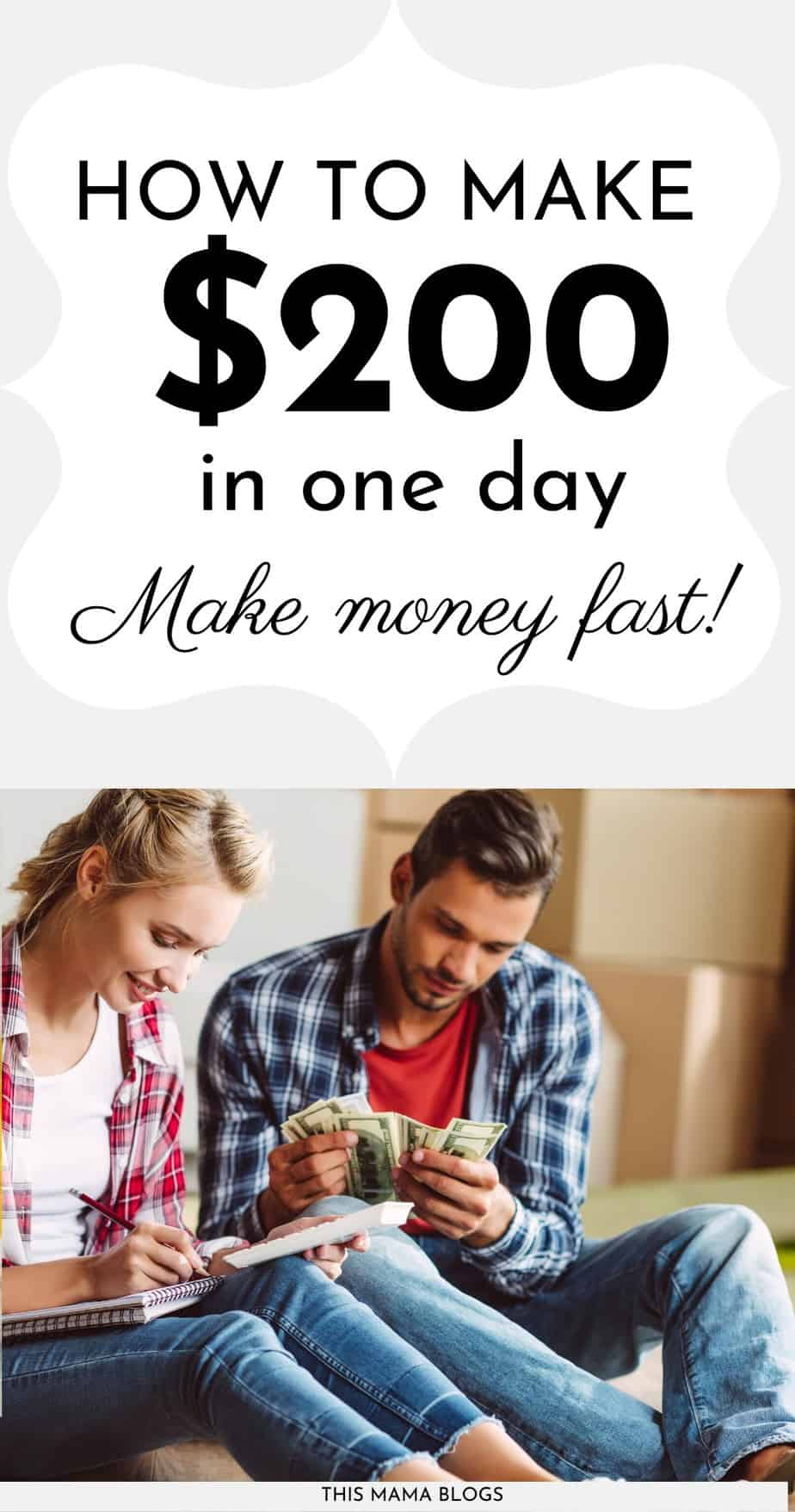 How to Make 200 Dollars in One Day (Make Money Fast Today ...