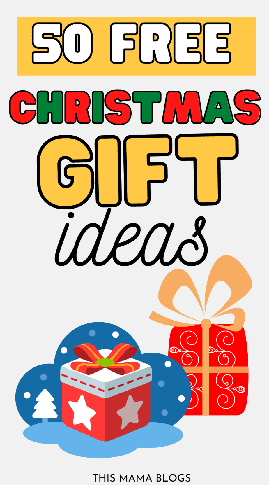 Thoughtful and free Christmas gift ideas