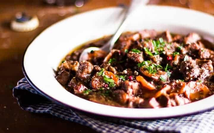 slow cooker dump recipe - pepper steak
