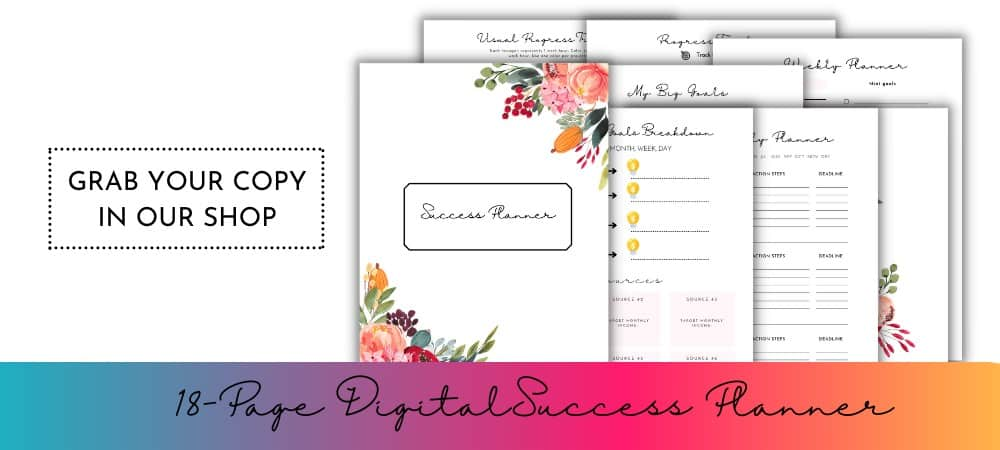 This Mama Blogs Success Planner