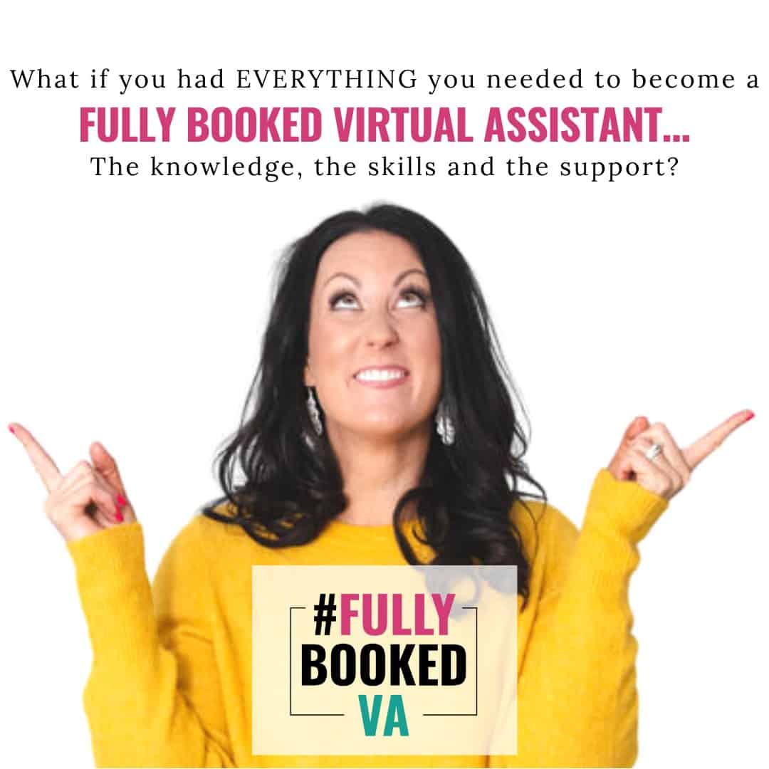 Fully Booked VA Virtual Assistant Training Course